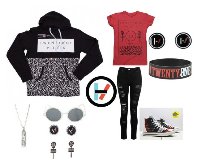 """""""twenty øne piløts"""" by toxicwaste01 on Polyvore featuring art"""