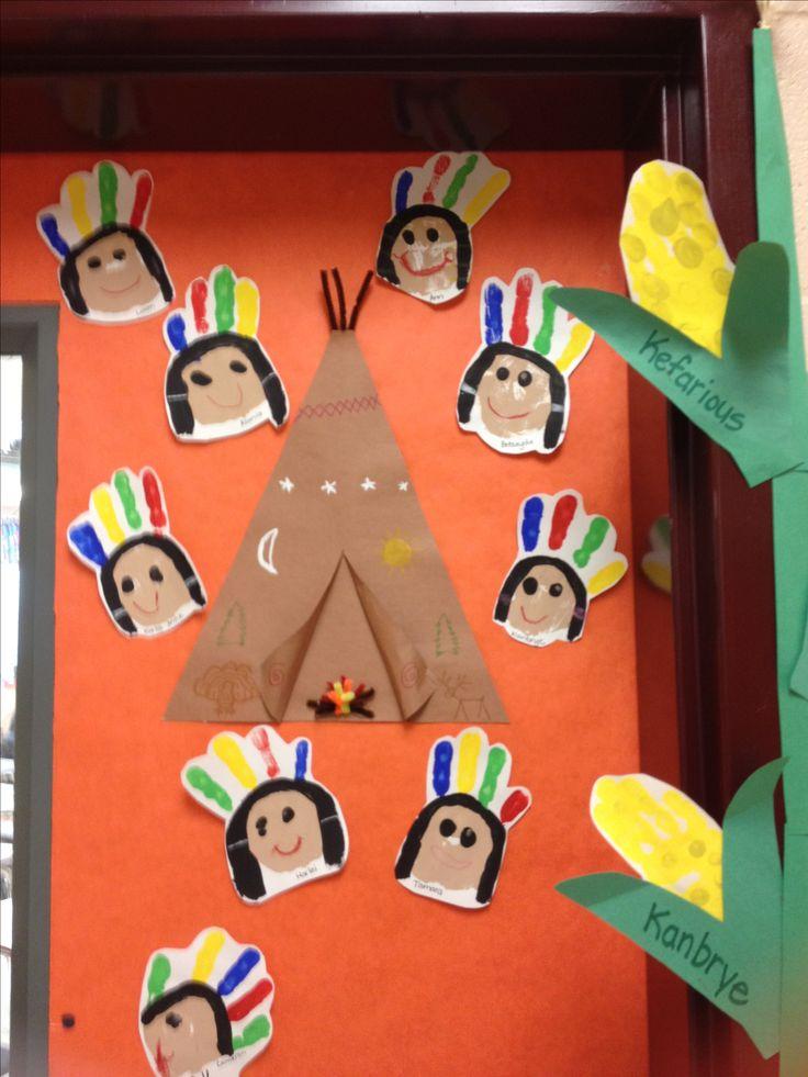 Handprint Indian girls