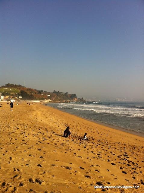 Playa Reñaca - Viña del Mar, Chile