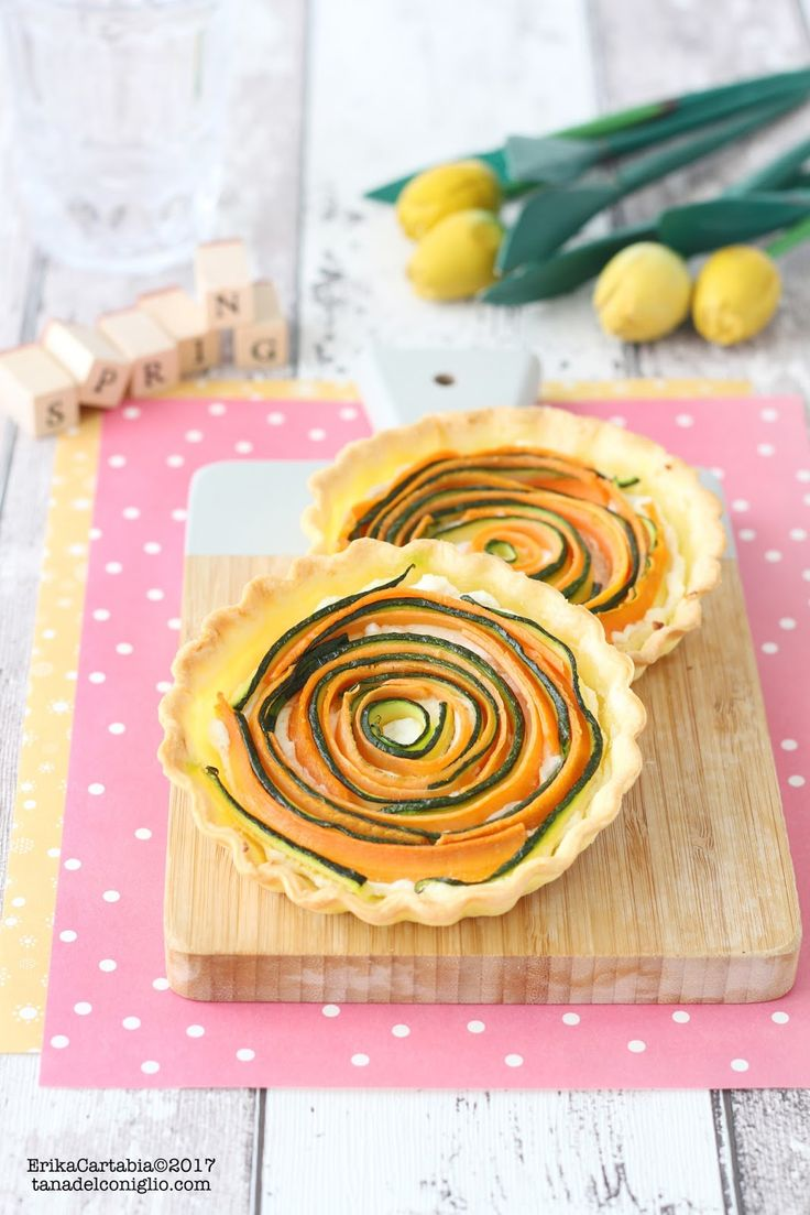 La torta salata di verdure a spirale  è il piatto perfetto da gustare come antipasto o per una gita fuori porta. Potete realizzarla in fo...