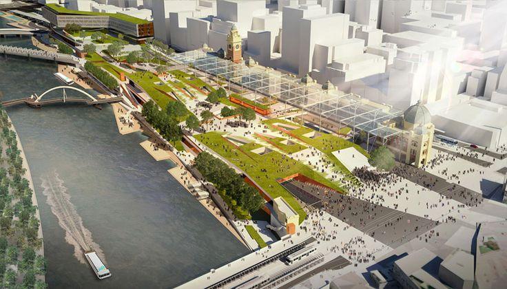 zaha hadid: flinders street station proposal