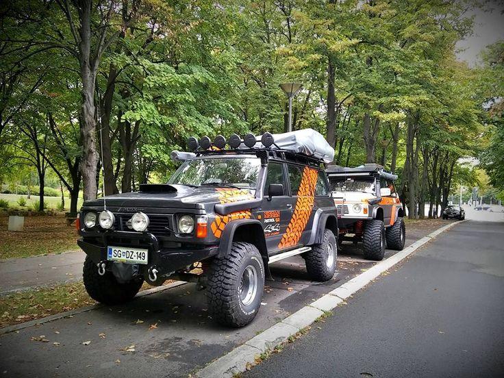 Two awesome Nissan Patrol Gr Y60 Wagon