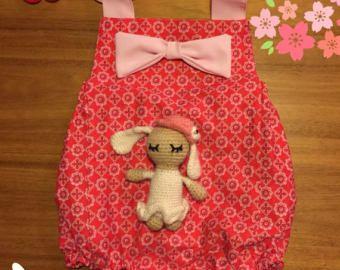 Baby rompertje rood roze rompertje zomer kleding romper met
