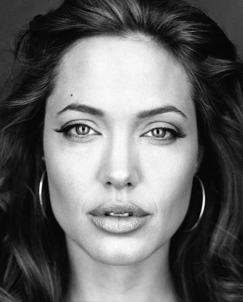 Angelina Jolie by Martin Schoeller