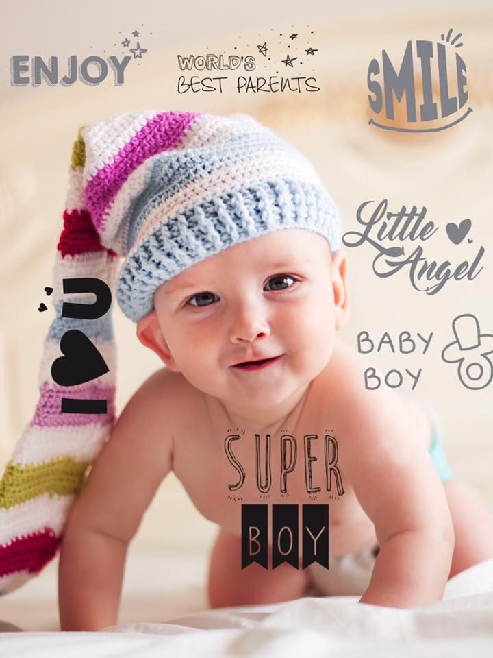 Embellish your #baby's photos  with #babystudiopro