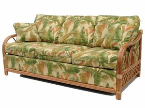 Rattan Sleep Sofa The Naples Sleeper Has A Great Tropical Look That Your Guests Can Sit On Or In You Sele