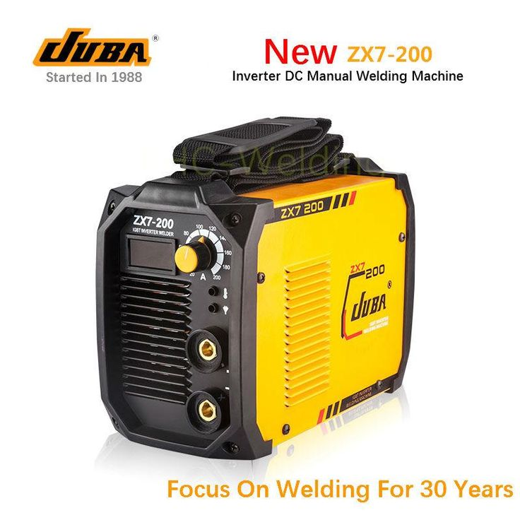 [Visit to Buy] Hot Selling JUBA welder IGBT Portable Welding Inverter MMA ARC ZX7-200 welding machine with electrode holder and earth clamp #Advertisement