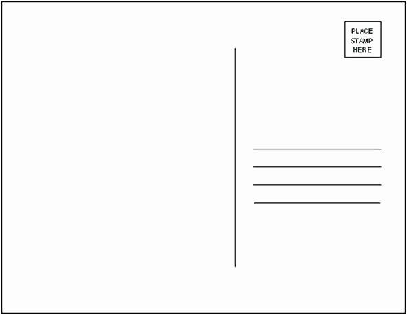50 Fresh 5 X 7 Postcard Template In 2020 Postcard Template Free