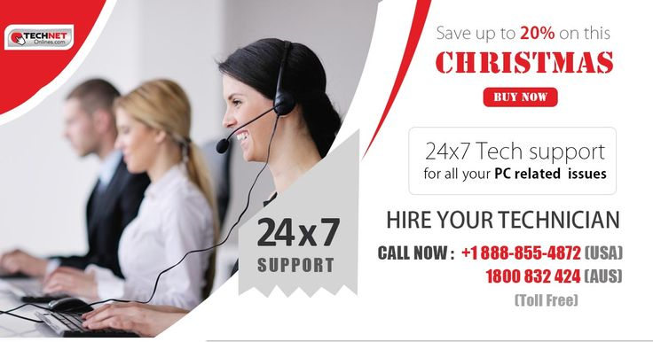 Get huge discount on support service this Christmas