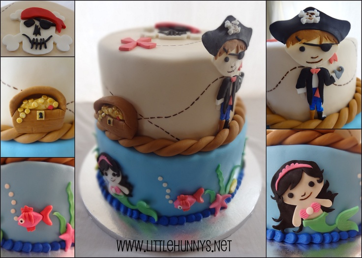 Pirate/Mermaid Cake!