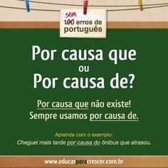 PoRtUgUêS nA TeLa: SEM erros de português