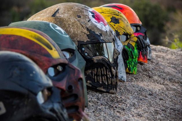 ColdBloodArt Paintball Masks 2 if someone ever bought me one of these masks I would love them forever