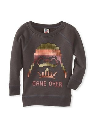 48% OFF Junk Food Kid's Game Over Sweatshirt (Bkwa)