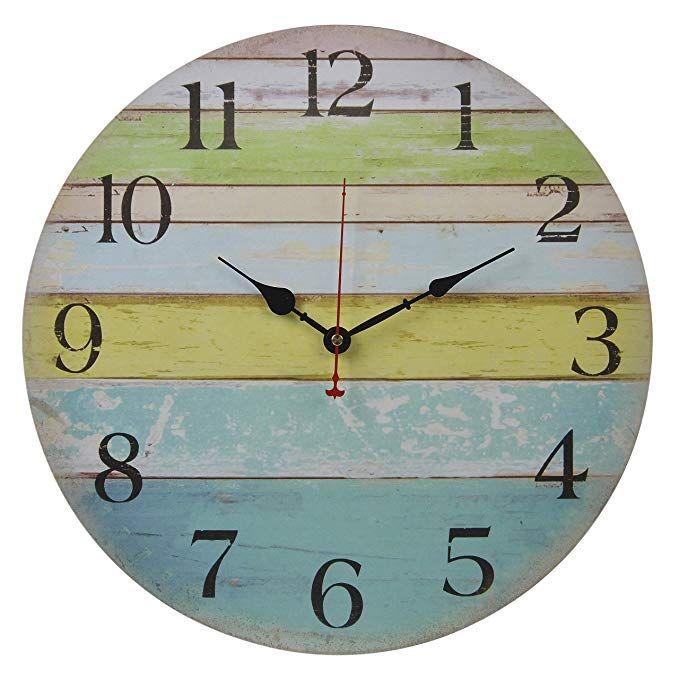 13 Nautical Bathroom Ideas | Rustic wall clocks, Wall ...