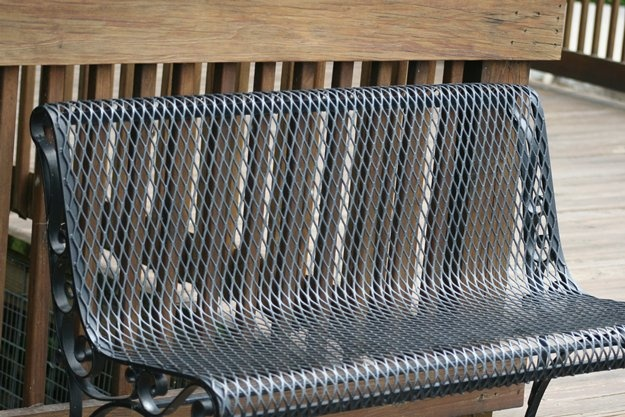 Expanded Metal Bench