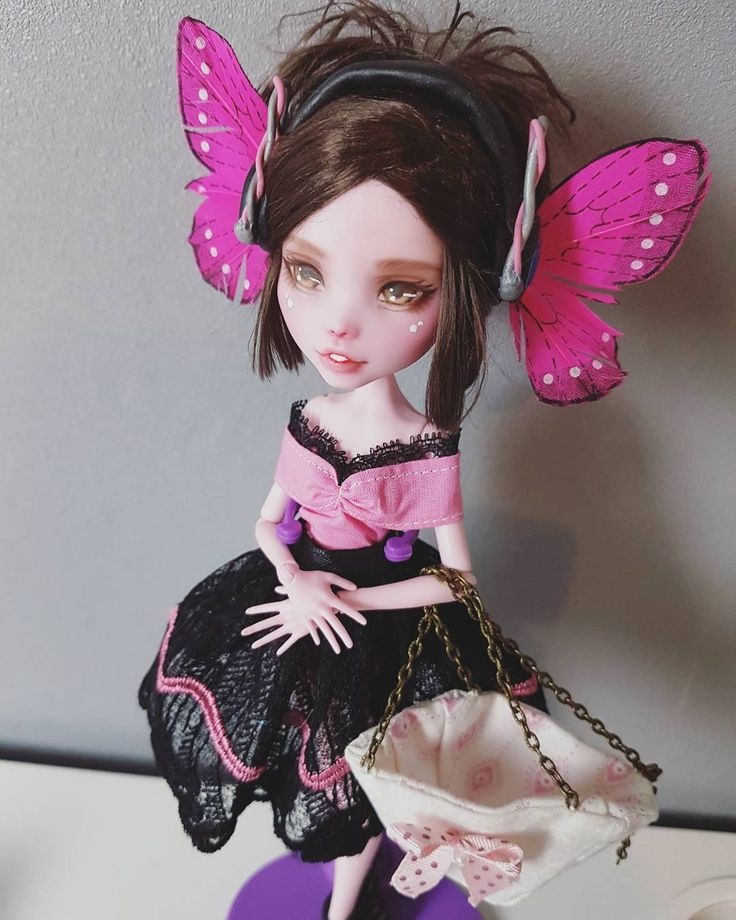 229 best images about monster high repaints and tutorials on pinterest monster dolls monster - Monster high noel ...