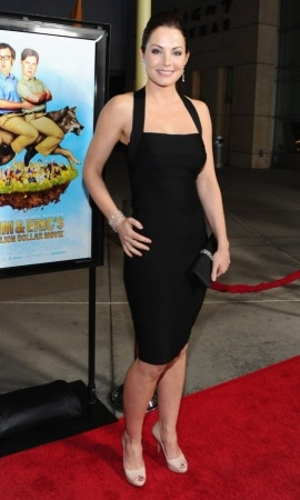 Erica Durance arrives to 'Tim And Eric'$ Billion Dollar Movie' Los Angeles Premiere at ArcLight Hollywood on March 1, 2012