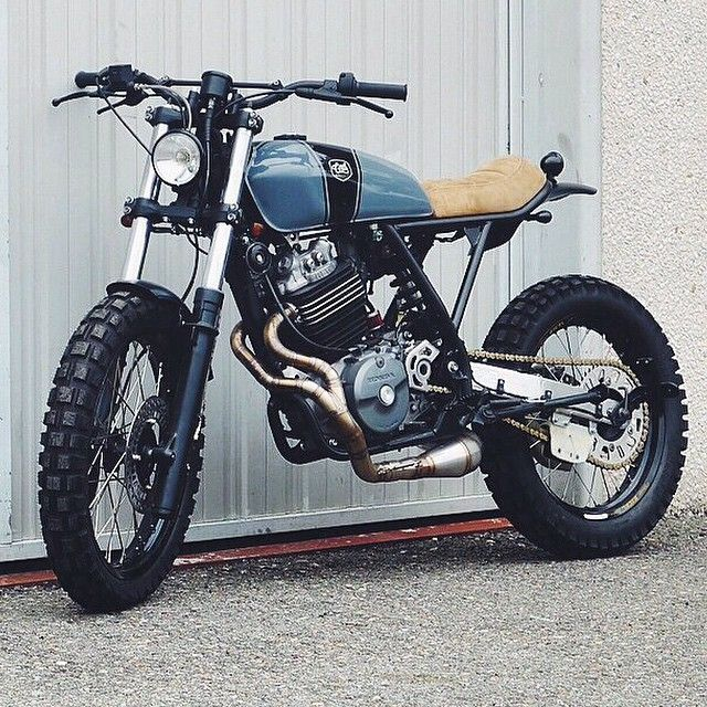 Honda XR600 by @caferacerdreams. Tasty.     #croig #caferacer #caferacersofinstagram