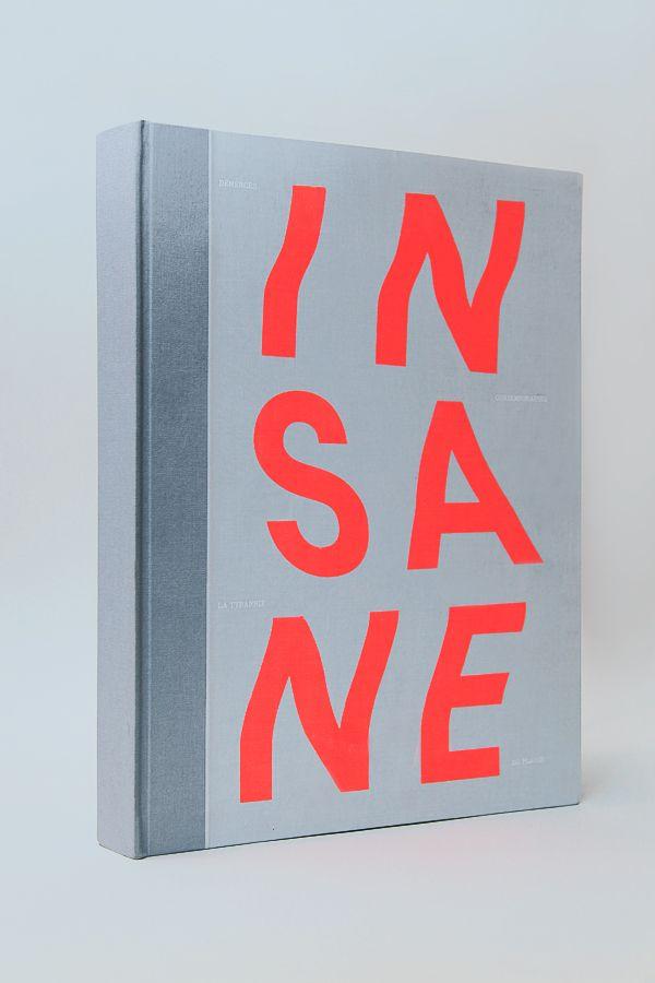 INSANE - Studio l' Etiquette - #typography #type
