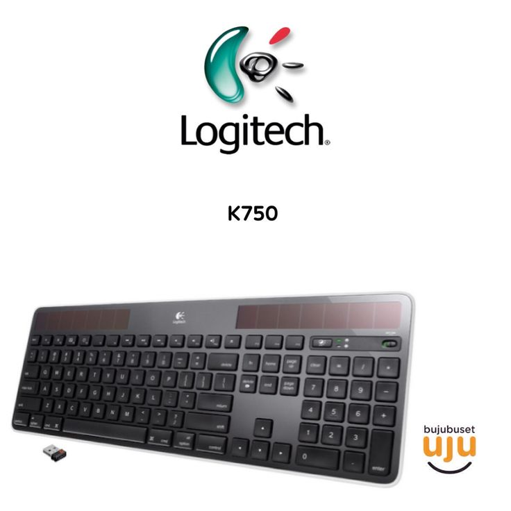 Logitech Wireless Keyboard K750  IDR 860.000