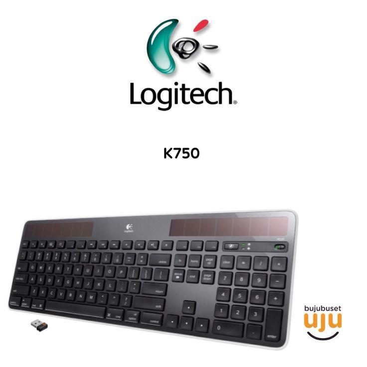 Logitech Wireless Keyboard K750  IDR 860.000