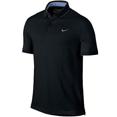 Shirts Tops and Sweaters 181138: Nike Golf Men S Dry Washed Polo (Black) Closeout 725545-010 Black Nike Shirt -> BUY IT NOW ONLY: $34.99 on eBay!
