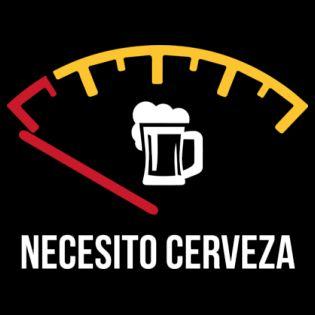 Necesito cerveza Camiseta