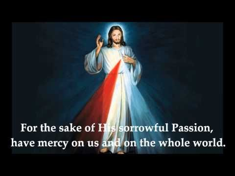 THE ROSARY AND THE CHAPLET OF DIVINE MERCY... I pray this for all natural, organic farmers and for our food supply... For the sake of His sorrowful passion have mercy on us and on the whole world.