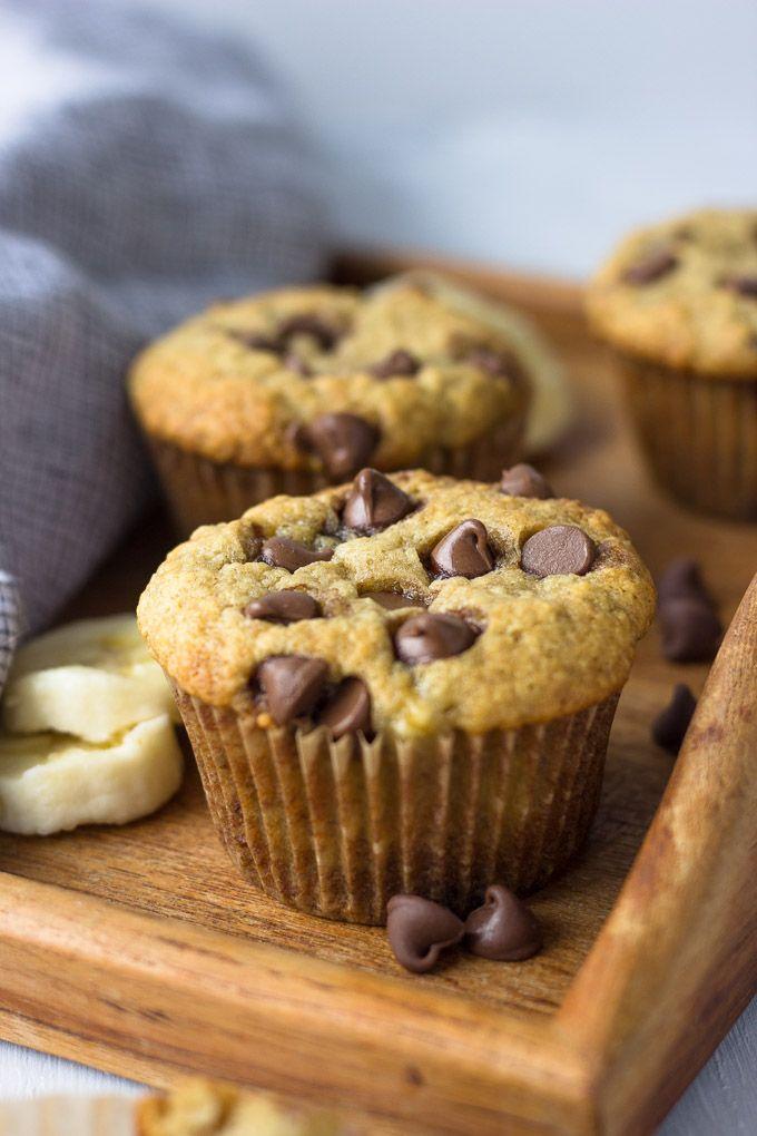 Small Batch Banana Chocolate Muffins Opskrift