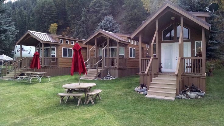 Cabins at Pagosa Springs RV Park, Cabins & ATV Rentals, The Colorado Vacation Directory