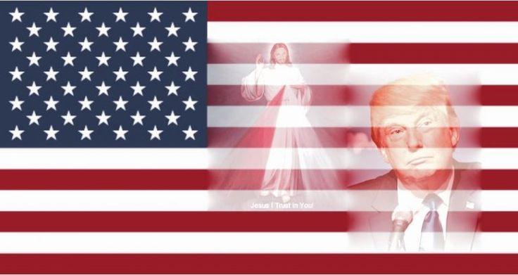 """""""Mais uma vez vos digo, Meus filhos: Donald Trump é a escolha de Deus! As vossas orações podem permitir a vitória. Deveis colocar a pessoa certa no controle da vossa nação, e at…"""