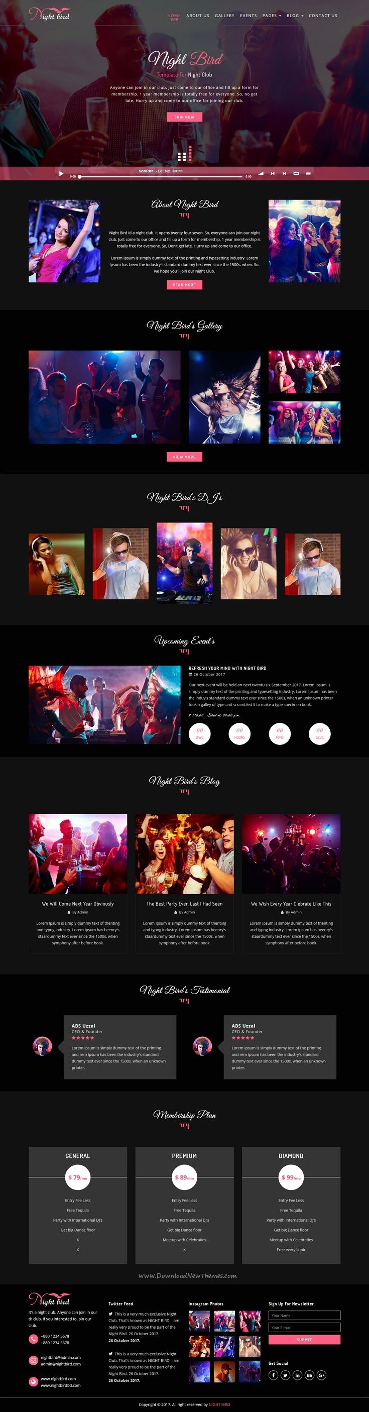 85 best music website images on Pinterest   Design web, Bands and ...