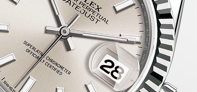 Scopri l'orologio Lady-Datejust 28 in Rolesor bianco (combinazione di acciaio 904L e oro bianco 18 ct.) sul Sito Ufficiale Rolex. Modello: 279174