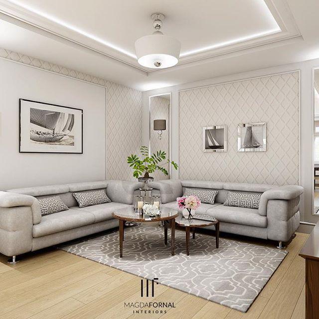 Na początek tygodnia dopracowałam ostatnie ujęcie  salonu dla pewnego przesympatycznego małżeństwa  #interiordesign #home #livingroom #mylastproject #design #livingdecor #livingroomdecor #interiorstyling #mirror #furniture #modern #glam #glamourous #details #modernclassic #style #glossy #decorations #decorationideas #familyspace #classy #shiny #comfy