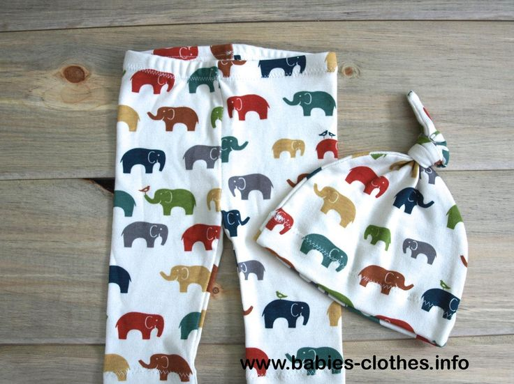 Organic Baby Leggings and Hat Set Elephant and Bird Organic Baby Pants Baby Clothes Beet Heart Organics - http://www.babies-clothes.info/organic-baby-leggings-and-hat-set-elephant-and-bird-organic-baby-pants-baby-clothes-beet-heart-organics.html