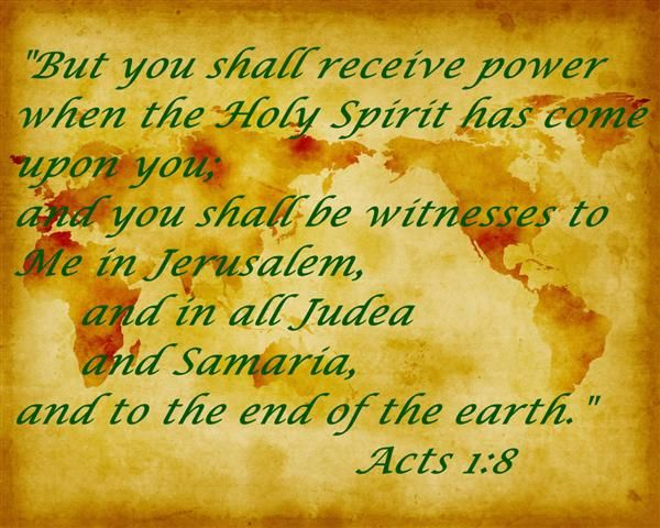 Acts 1:8 Bible Verse