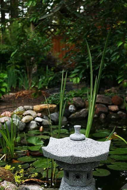 Garden View - Pond Area | Pia´s Garden | Flickr