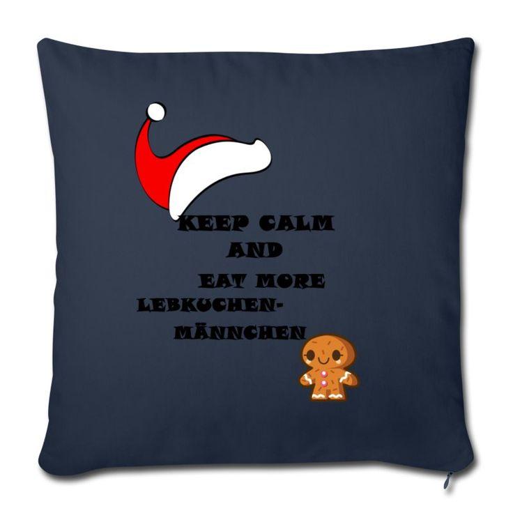 Ein lustiger Spruch zur Weihnachts-und Adventszeit Kissenbezüge passend zur Jahreszeit