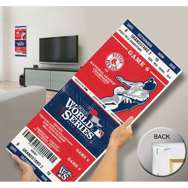 Boston Red Sox 2013 MLB World Series Champions Mega Ticket - $79.99