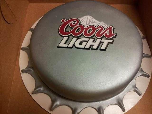 coors light cupcakes