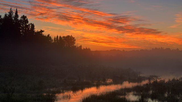Greater Sudbury at Dawn, Ontario