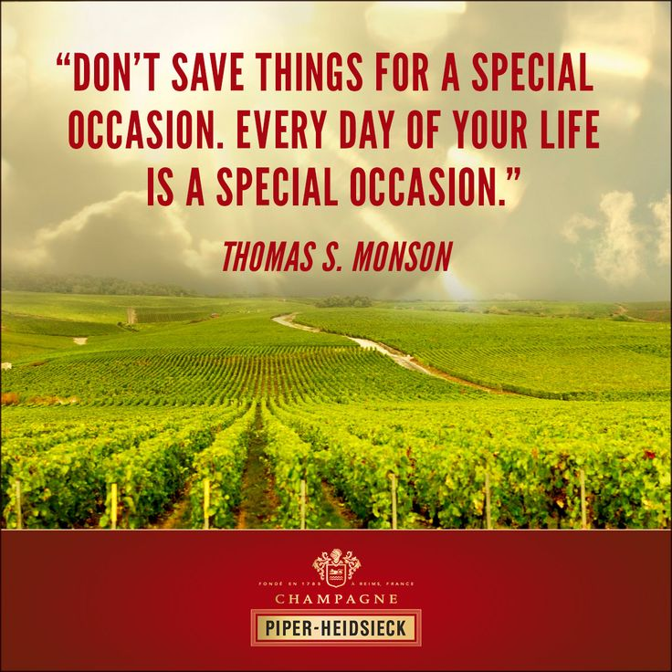 Champagne Tips and Quotes #piperheidsieck #champagne