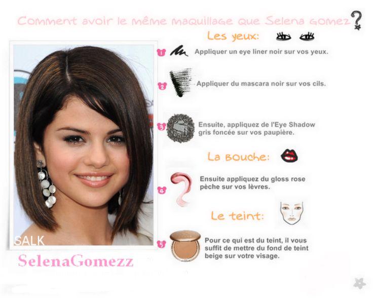 astuces de beauté | Astuce Beauté : Selena Gomez - Ton blog sur Selena Gomez !