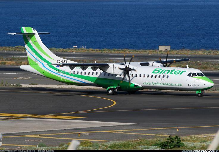 ATR ATR-72-500 (ATR-72-212A) - Binter Canarias (Naysa - Navegacion y Servicios Aereos Canarios)   Aviation Photo #1683048   Airliners.net
