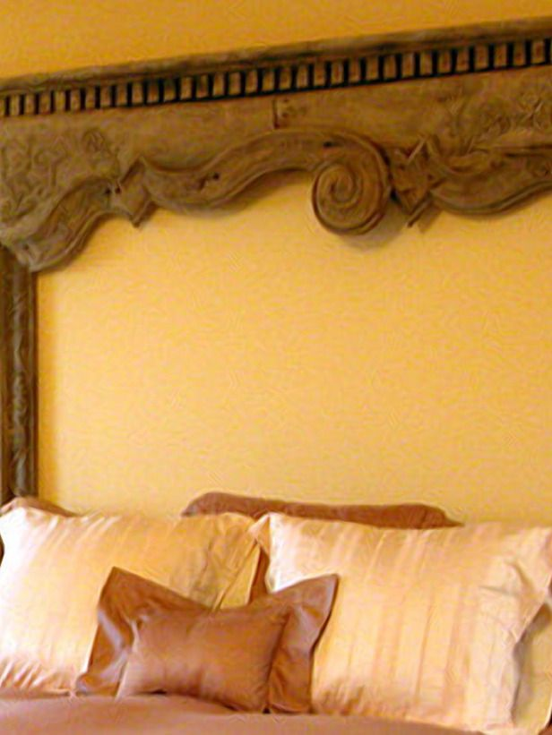 Fresh Headboard Ideas : Home Improvement : DIY Network