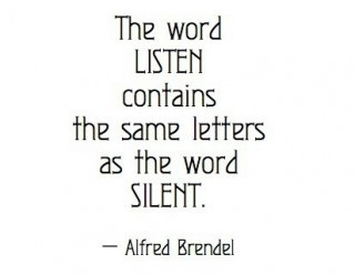Listen & Silent are two words having the same letters. They are significant in a friendship because only a friend can listen to you when you are silent.