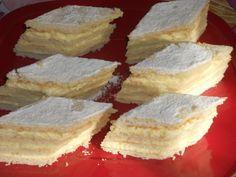 Aceasta prajitura este preferata familiei mele, si cred ca o sa va placa si voua. Ingrediente Foile -200 g faina -100 g unt -1 ou -1 lingura lapte -2 linguri