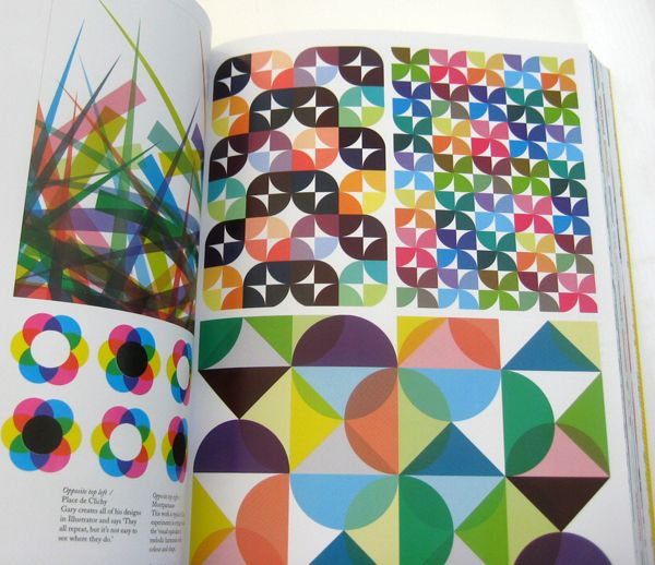 "Print & Pattern 2 - by Bowie Style. Design book published by Laurence King in October 2011 - ""Graphic Nothing"" pages. ISBN-13: 978-1856697927"