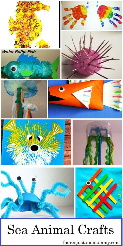 Sea animal crafts are always popular with kids. This collection of over 20 ocean animal crafts for kids is perfect for building a sea animal unit or any child that loves ocean animals. #kidscrafts