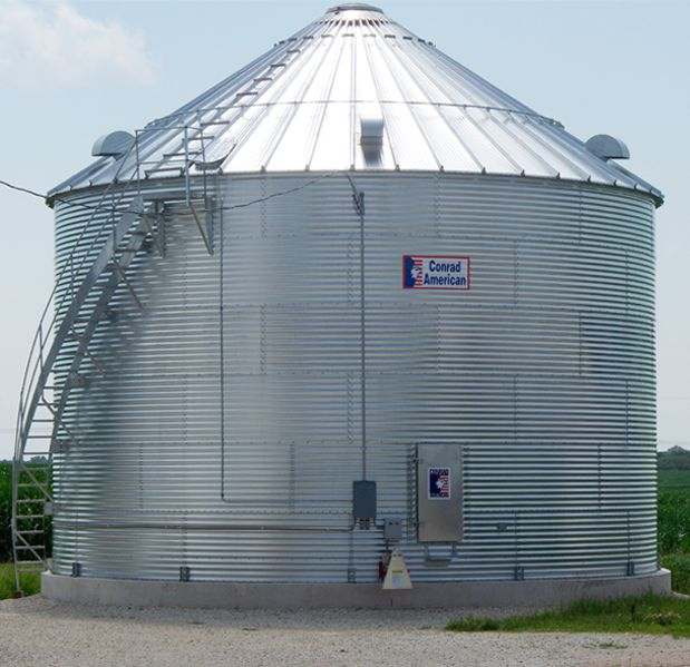 Farm Bin for Grain Storage
